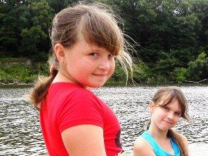 девочка, девочка, подружки, пляж, река, лето, растут, меняются, стесняются
