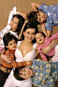 5 детей, пять детей, малыши, дети