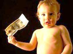 алименты, ребенок, малыш, деньги