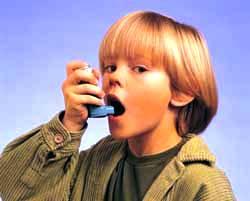 астма, ребенок, больной, лечить,ингалятор