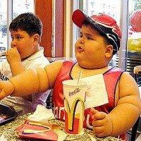 ребенок, дети, едят, голодный, обед, фастфуд
