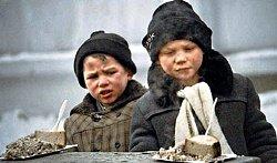 беспризорные, беспризорники, дети, мальчики, голодные, на улице