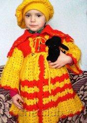 вязание крючком для детей до года. вязание малышам до года. бесплатно...