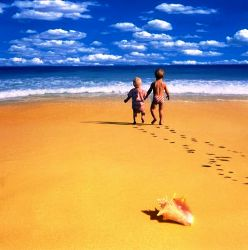 Если дети первый раз отдыхают у моря