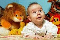 Психологическая диагностика для детей, малыш, ребенок, кроха, улыбается, игрушки, лев, тигр
