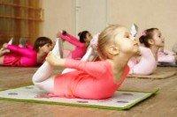 Занятия фитнесом для детей