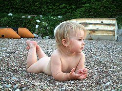 Правильный детский крем для загара