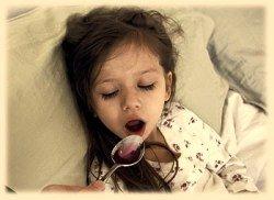 Лечение ОРВИ у ребенка