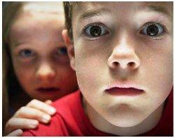 Чего боятся маленькие дети