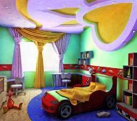 Обои в комнате для детей
