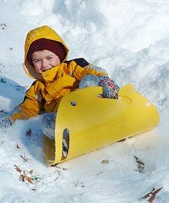Снежные игры для детей