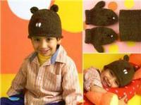 Забавные шапочки для детей