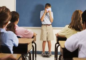У ребенка социофобия