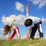 Как приучить ребенка к зарядке