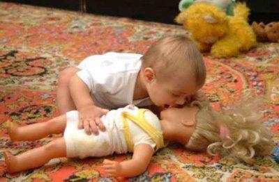 Если мальчик выбирает кукол