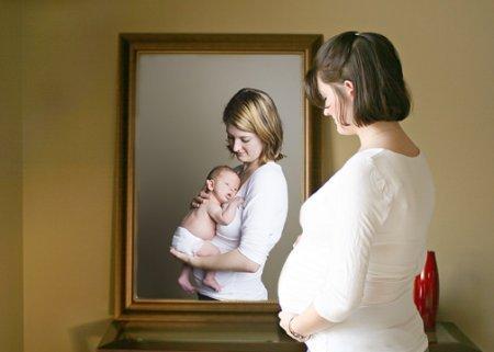 Мама, я беременна