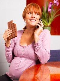 У любительниц шоколада рождаются более активные детки