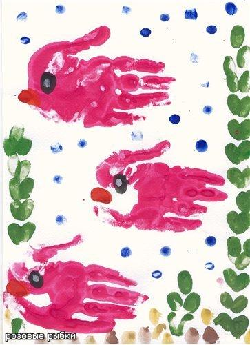 Первый рисунок вашего карапуза