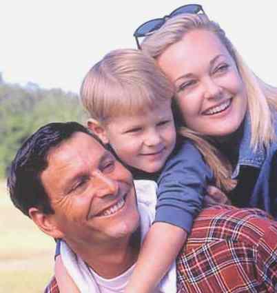 Гармония в семье воспитает счастливую личность