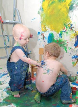 Развитие таланта для творческих малышей