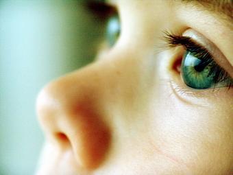 Перенапряжение детских глазок
