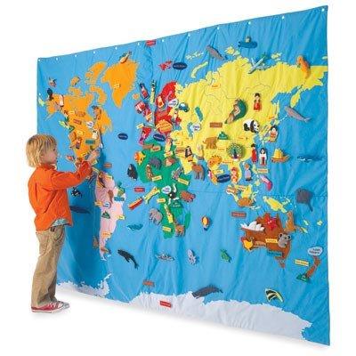 Географическая карта как уникальный источник развития ребенка