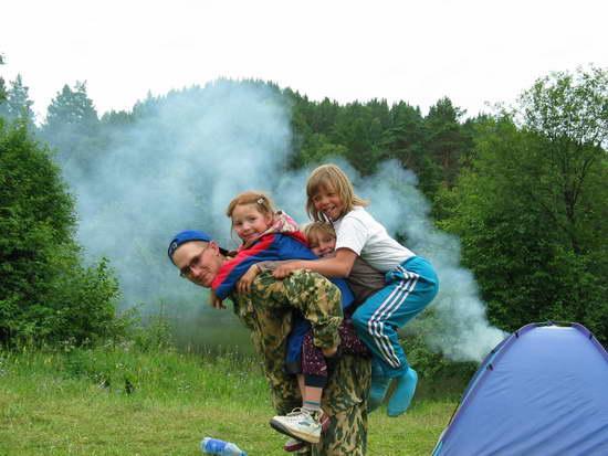 Активный отдых с ребенком