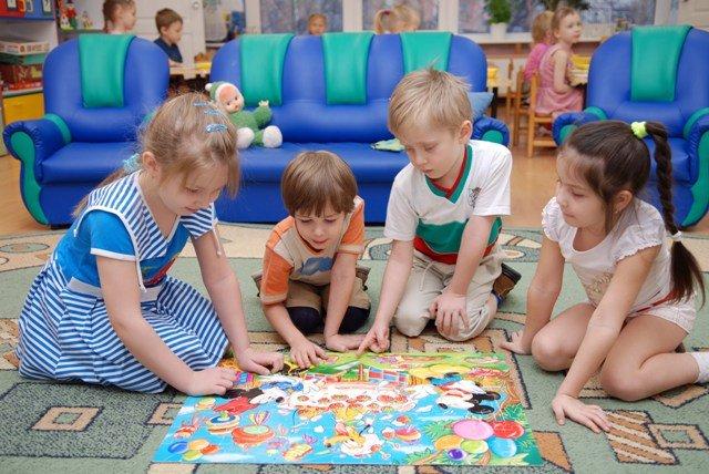 Детский сад и домашние дети