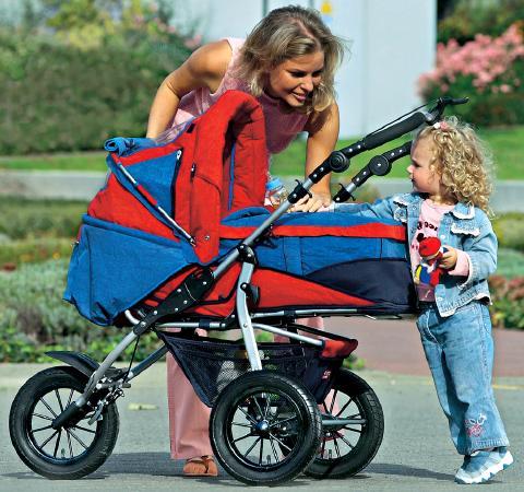Почему нужно гулять с младенцем