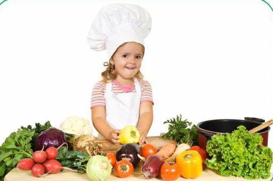 Преимущества детского вегетарианства