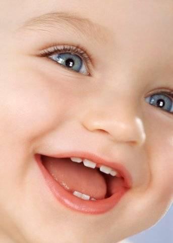 Если у малыша режутся зубки