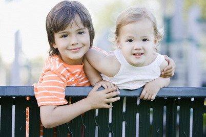 Двое детей в семье