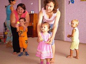 Развлечения для детей, которые научились ходить