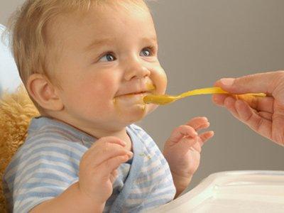 Оптимальное питание детей до года